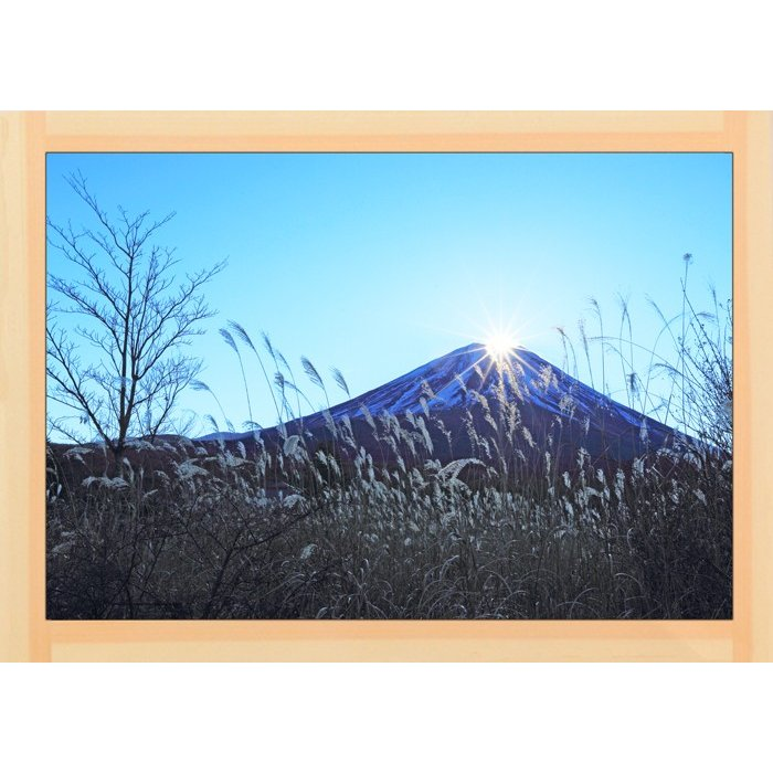 富士山  Mt FUJI   世界遺産    0042  A2 size