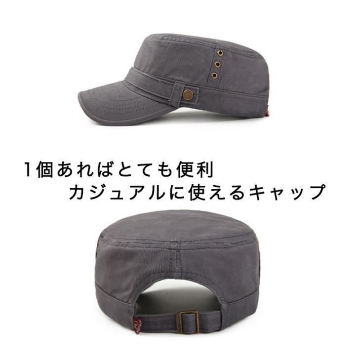 キャップ 帽子 ワークキャップ ぼうし カジュアルキャップ シンプル 使い勝手抜群 デイリー ユニセックス メンズ レディース カラー豊富 サイズ調整可能 kira-bsmile 02