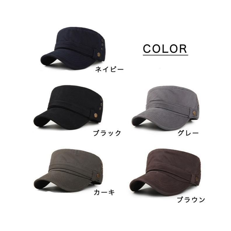 キャップ 帽子 ワークキャップ ぼうし カジュアルキャップ シンプル 使い勝手抜群 デイリー ユニセックス メンズ レディース カラー豊富 サイズ調整可能 kira-bsmile 06