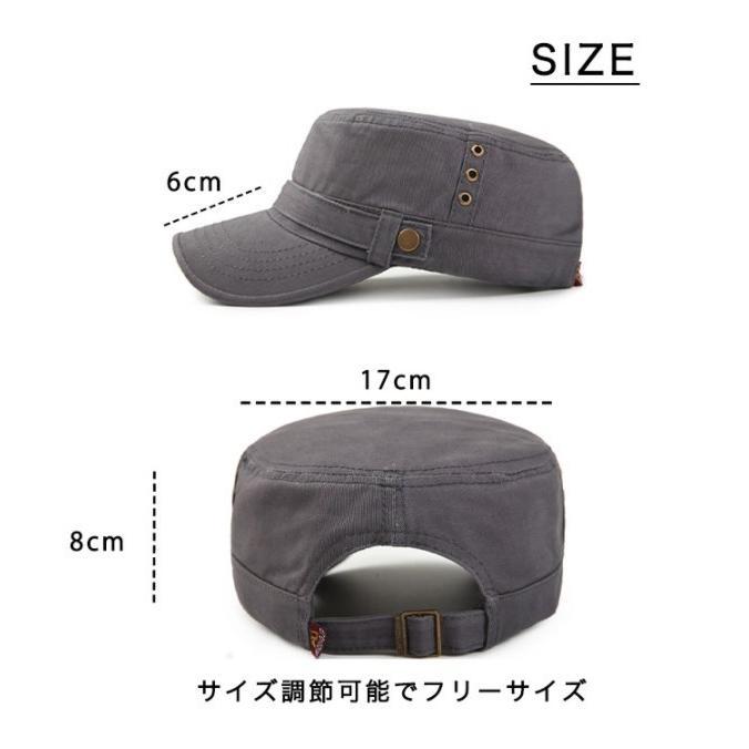キャップ 帽子 ワークキャップ ぼうし カジュアルキャップ シンプル 使い勝手抜群 デイリー ユニセックス メンズ レディース カラー豊富 サイズ調整可能 kira-bsmile 07