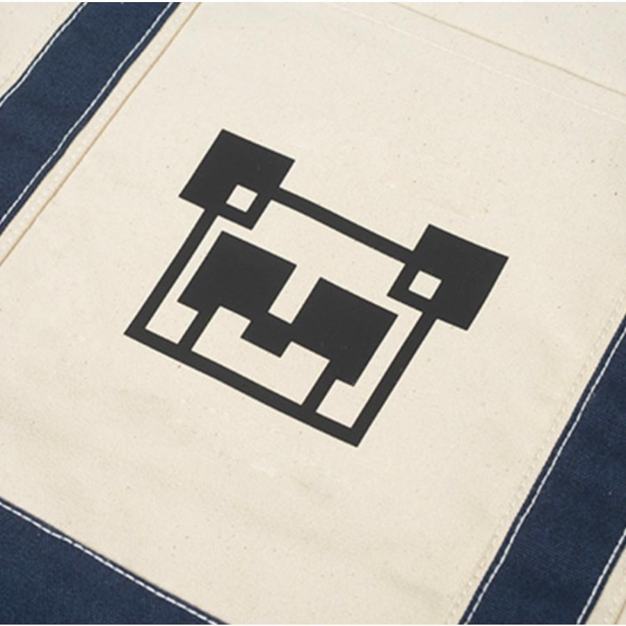 12oz キャンバス バイカラートート L オーダーメイド 子供の絵 チームロゴ 手足型 ペット 写真 オリジナルデザイン|kira-bsmile|07