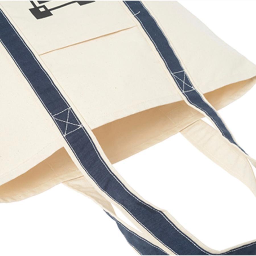12oz キャンバス バイカラートート L オーダーメイド 子供の絵 チームロゴ 手足型 ペット 写真 オリジナルデザイン|kira-bsmile|05