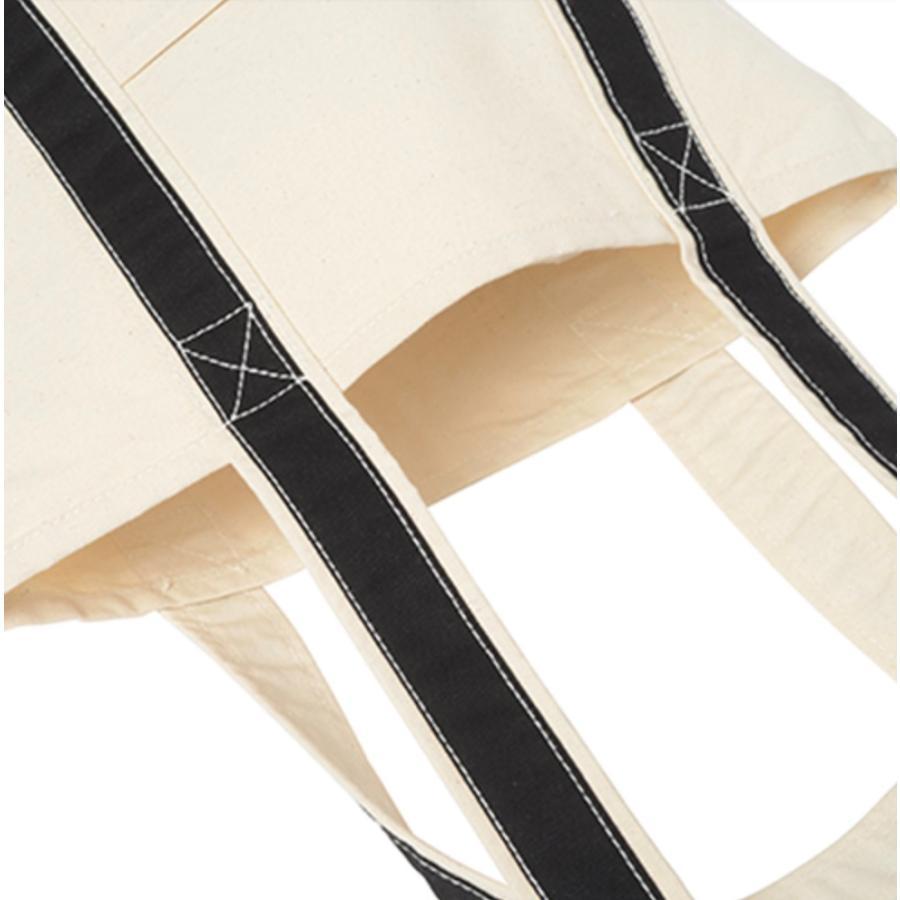 12oz キャンバス バイカラートート M オーダーメイド 子供の絵 チームロゴ 手足型 ペット 写真 オリジナルデザイン|kira-bsmile|05