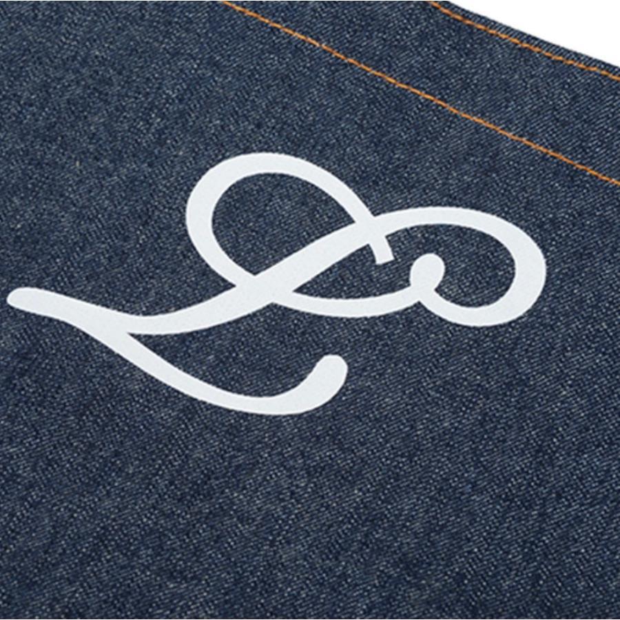 デニム トートバッグ S オーダーメイド 子供の絵 チームロゴ 手足型 ペット 写真 オリジナルデザイン|kira-bsmile|08