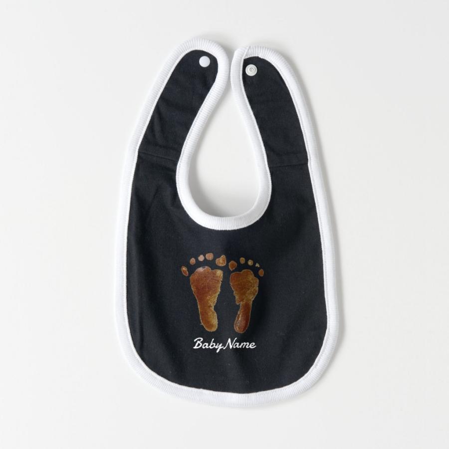 ベビー スタイ オーダーメイド 子供の絵手 足型 名入れ 1点から作成オリジナルデザイン kira-bsmile 09