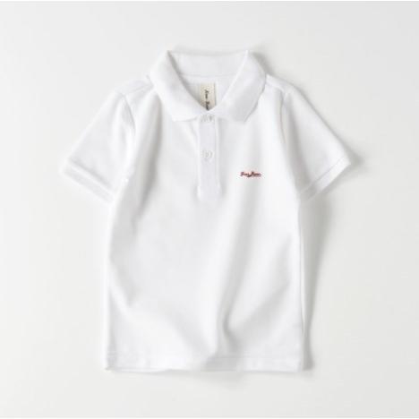 ポロシャツ オーダーメイド キッズ 刺繍 球団風ロゴ 名入れ 1点から作成オリジナルデザイン|kira-bsmile