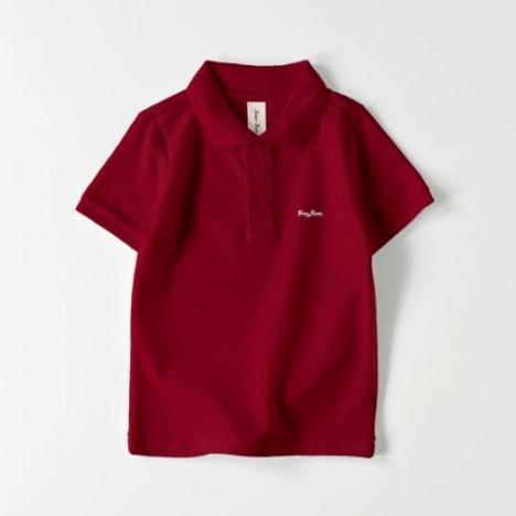 ポロシャツ オーダーメイド キッズ 刺繍 球団風ロゴ 名入れ 1点から作成オリジナルデザイン|kira-bsmile|03