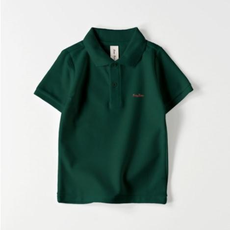 ポロシャツ オーダーメイド キッズ 刺繍 球団風ロゴ 名入れ 1点から作成オリジナルデザイン|kira-bsmile|05