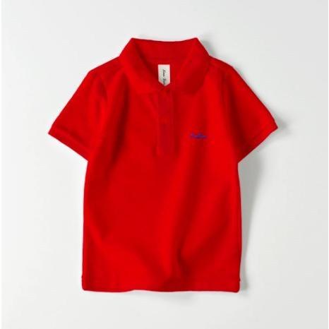 ポロシャツ オーダーメイド キッズ 刺繍 球団風ロゴ 名入れ 1点から作成オリジナルデザイン|kira-bsmile|06
