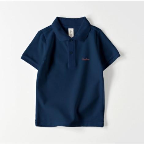 ポロシャツ オーダーメイド キッズ 刺繍 球団風ロゴ 名入れ 1点から作成オリジナルデザイン|kira-bsmile|07