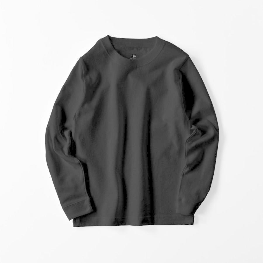 ロングTシャツ オーダーメイド キッズ リブ 子供の絵手足型 名入れ 1点から作成オリジナルデザイン|kira-bsmile|12