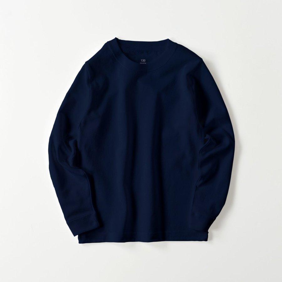 ロングTシャツ オーダーメイド キッズ リブ 子供の絵手足型 名入れ 1点から作成オリジナルデザイン|kira-bsmile|13