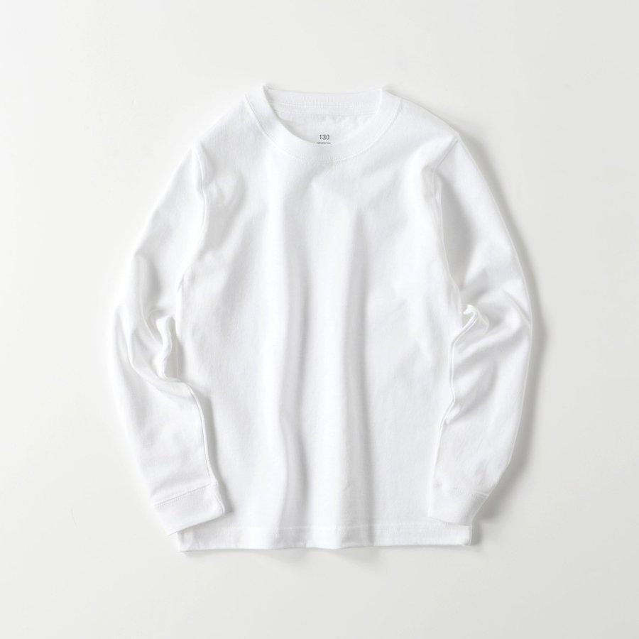 ロングTシャツ オーダーメイド キッズ リブ 子供の絵手足型 名入れ 1点から作成オリジナルデザイン|kira-bsmile|10