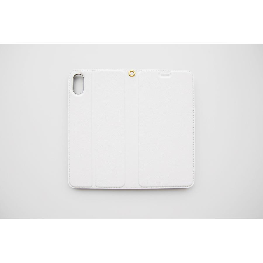 iPhoneXR スマホケース オーダーメイド 手帳型 帯無し 子供の絵 チームロゴ ペット 写真 オリジナルデザイン kira-bsmile 08