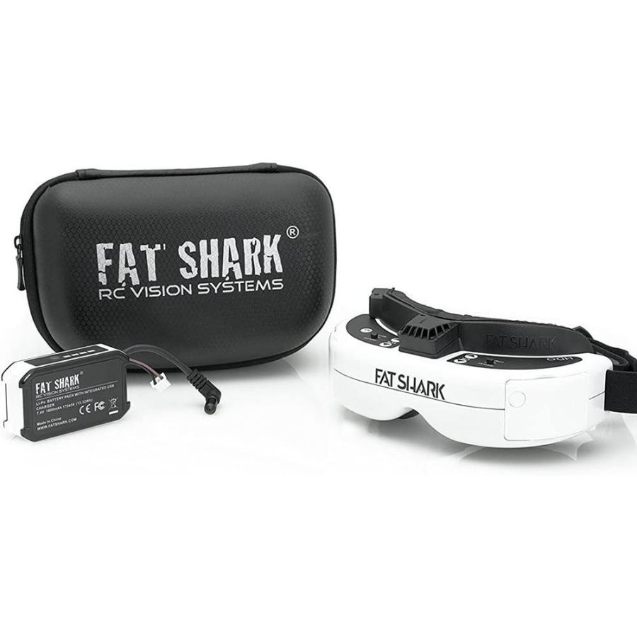 FatShark HDO FPVゴーグルDVR HDMI 1080p ビデオ リアルタイムRCドローン空撮用ヘッドマウントディスプレイ FS