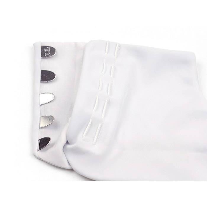 白 足袋 ストレッチ 東レ ナイロントリコット生地 使用 5枚こはぜ S / M / L / LL サイズ(21.5cm〜25.5cm)|kirakukai|03