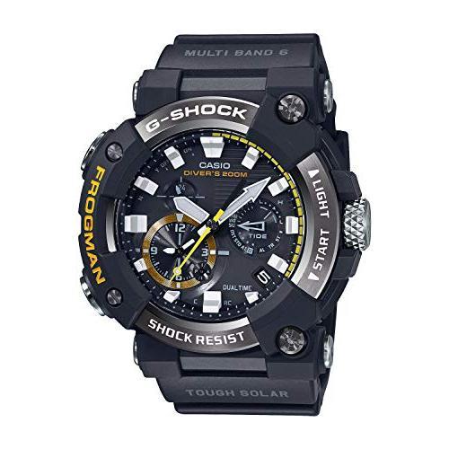 [カシオ] 腕時計 ジーショック Bluetooth 搭載電波ソーラーFROGMAN カーボンコアガード構造 GWF-A1000-1AJF メンズ