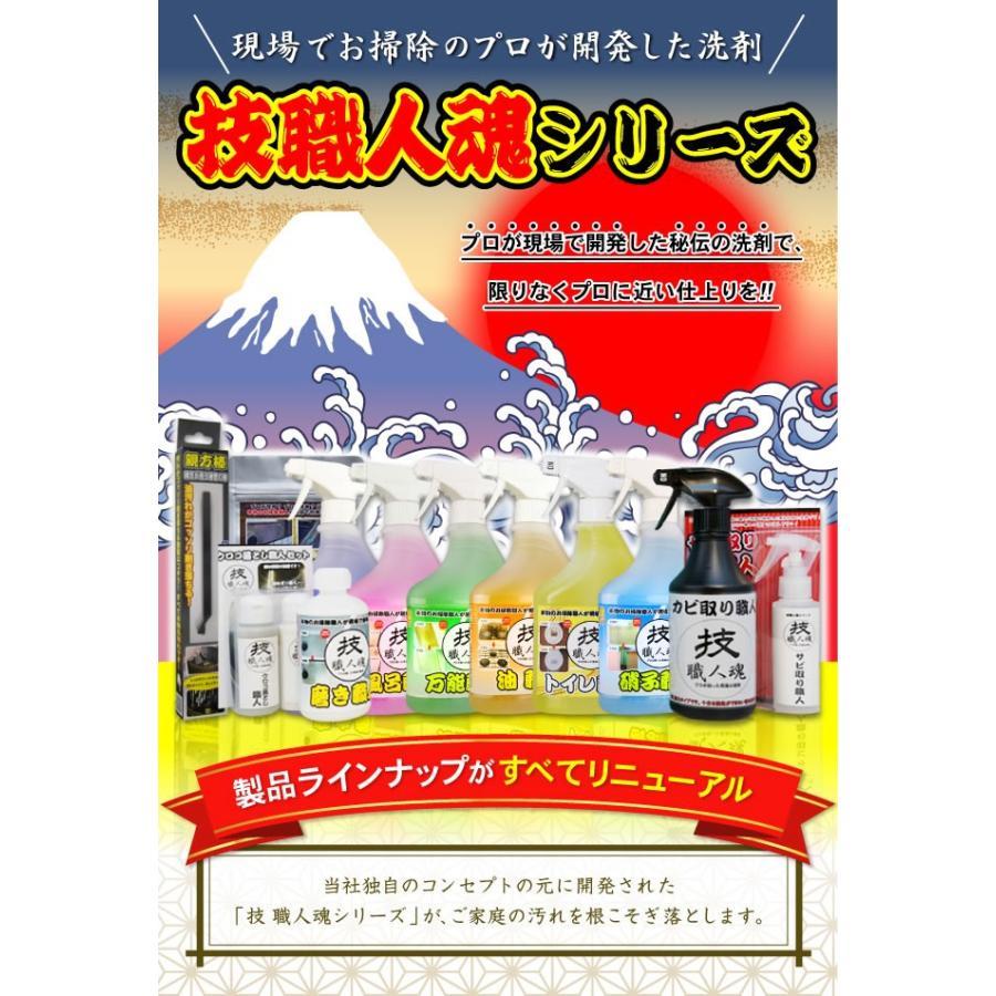 壁紙洗剤 技職人魂 壁汚れ職人 スプレーボトル 500ml 即納 f 070 キレイサプリ 通販 Yahoo ショッピング