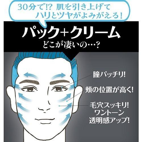 メンズ スキンケア ほうれい線 エイジングケア しわ 毛穴 小じわ 化粧品 スーパーリフティングプログラム10回+WKクリーム kireims 07