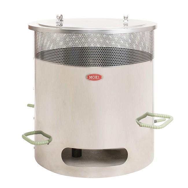 MOKI 焚き火どんどん MP350(350L モキ ダイオキシン 対策 家庭用 ゴミ 焼却 エコ 家庭用焼却炉 白い煙が出ない) メーカー直送