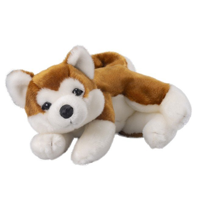 なでなでワンちゃん 秋田犬 HACHI ハチ(対象年齢 3歳以上 犬 ぬいぐるみ 電子玩具 電子おもちゃ 鳴く ほえる 仔犬)