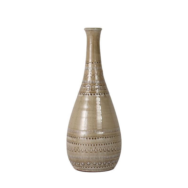 ダルトン クレイ ドロップ ベース 花瓶 L CLAY DROP VASE L K565-450L|kireshop