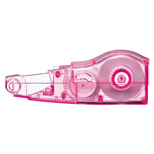 (まとめ買い)プラス 修正テープ ホワイパーミニローラー 交換テープ 4.2mmピンク WH-634R 〔10個セット〕 kireshop