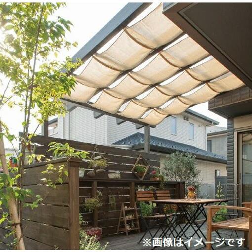 タカショー ポーチガーデン Jポーチ(壁付タイプ) 1.5間×9尺 *シェード·デッキ等は別売です クリアマット