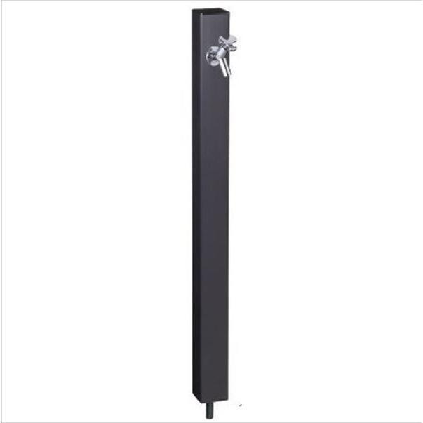 前澤化成工業 パレットシリーズ(EX柱)  下取出タイプ  HI-A16型 ブラック 『立水栓 蛇口は別売り』