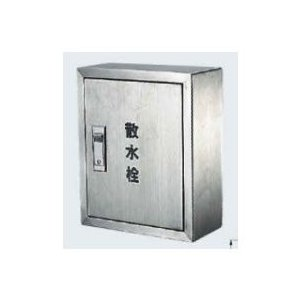 カクダイ 散水栓ボックス露出型 壁用 300×250×3ミリ 6269 『水栓柱・立水栓 オプション』