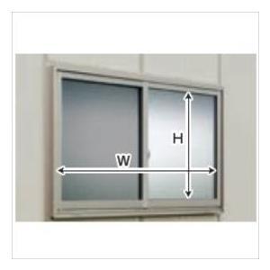 タクボガレージ ガレージ用オプション サッシ窓(網戸付) SL·CL型設置後納入 *後付け価格 L-S2020B