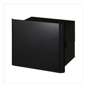 オンリーワン ヴァリオ ネオ グラフ プレーン 埋め込みタイプ(鍵無し) NA1-PL04GB 『郵便ポスト』 グロスブラック