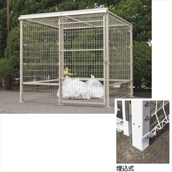 四国化成 ゴミストッカーEMF型 GEM-U2020 引き戸式 埋込式 基本セット 片引き 『ゴミ収集庫』『ダストボックス ゴミステーション 屋外』『