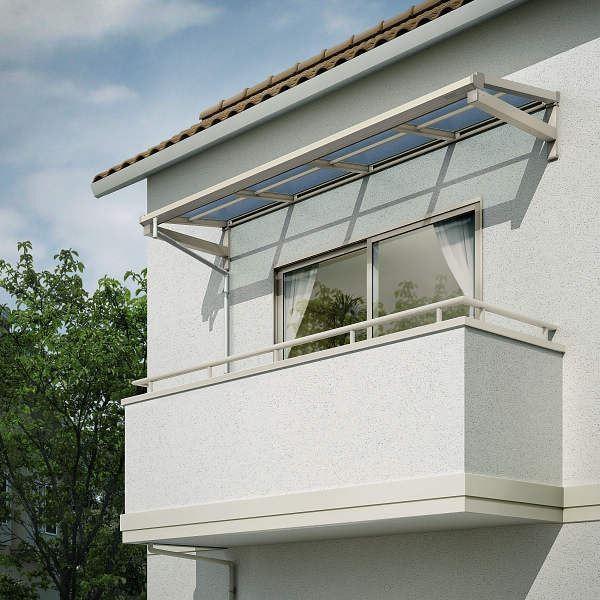 YKKAP 持ち出し屋根 ソラリア 1間×2尺 フラット型 熱線遮断ポリカ屋根 関東間 1500N/m2