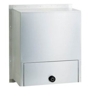 ハッピー金属 ステンレスポスト ファミール671-K (受箱のみタイプ) 『郵便ポスト』 ステンレスヘアーライン