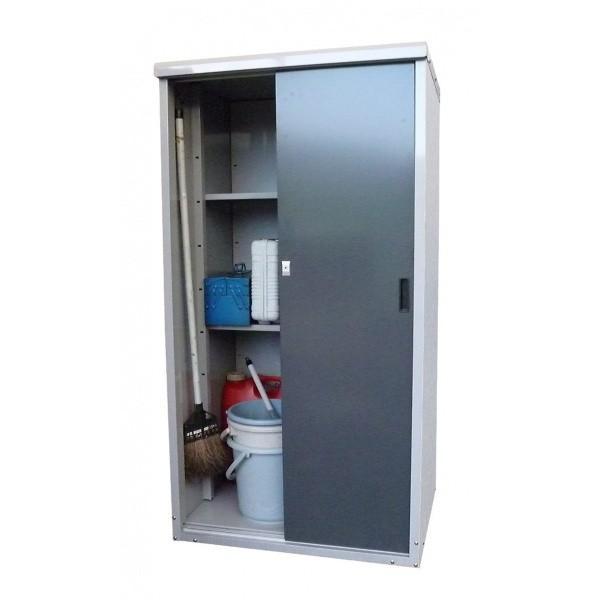 タカヤマ物置 TMR TMR-0815    『スチール製の屋外用小型物置・収納庫シリーズ』
