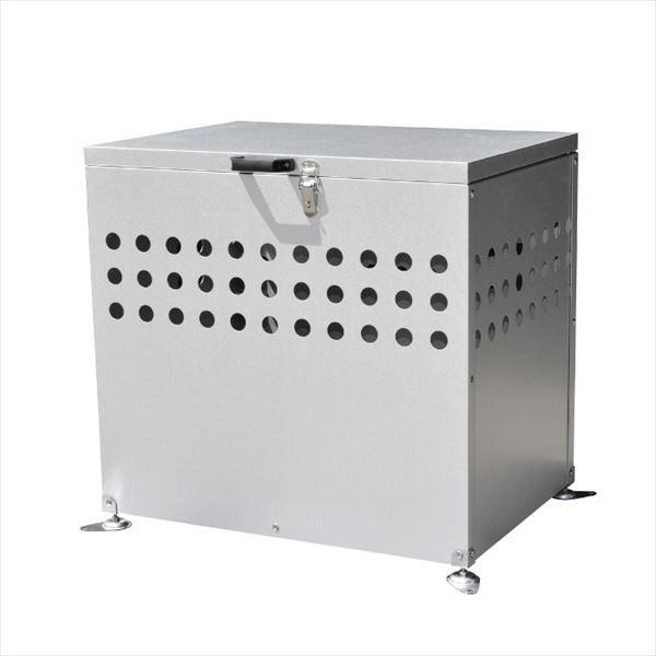 メタルテック ガルバ鋼板製 ふた付 ふた付 ふた付 ダストボックス DST-700 200L 『ゴミ袋(45L)集積目安 4袋、世帯数目安 2世帯』 『ダストボックス 758