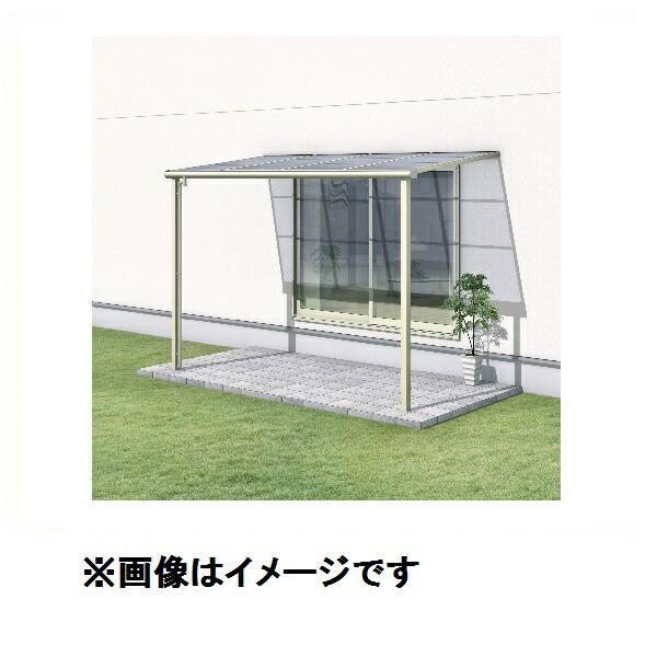 三協アルミ レボリューA 2.0間×4尺 600タイプ/メーターモジュール/1階用F型/標準収まり/単体 防汚ポリカ 『テラス屋根』 *屋根カラーはクリアのみ