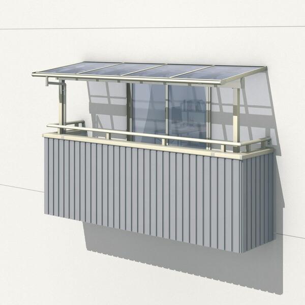 三協アルミ レボリューZ 1.0間×7尺 1500タイプ/メーターモジュール/2階用F型/出幅移動収まり/単体  『テラス屋根』 熱線遮断ポリカ
