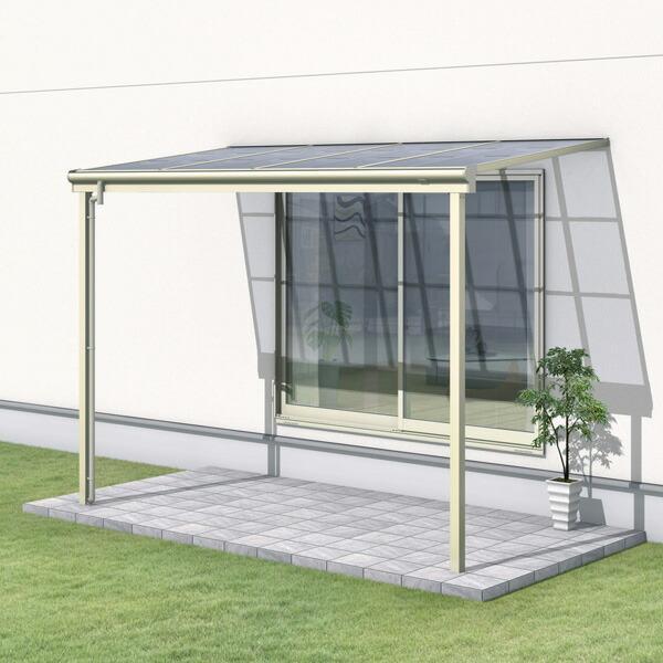 三協アルミ レボリューZ 2.5間×6尺 3000タイプ/関東間/1階用F型/標準収まり/2連結  『テラス屋根』 ポリカーボネート