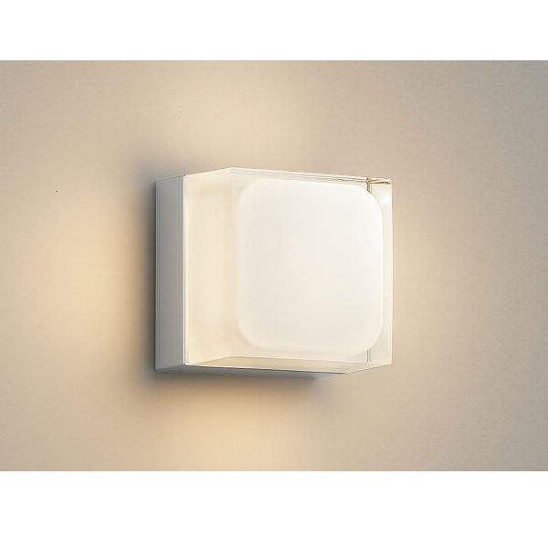 コイズミ ポーチ灯 AU45871L 『ブラケットライト エクステリア照明 ライト』 シルバーメタリック