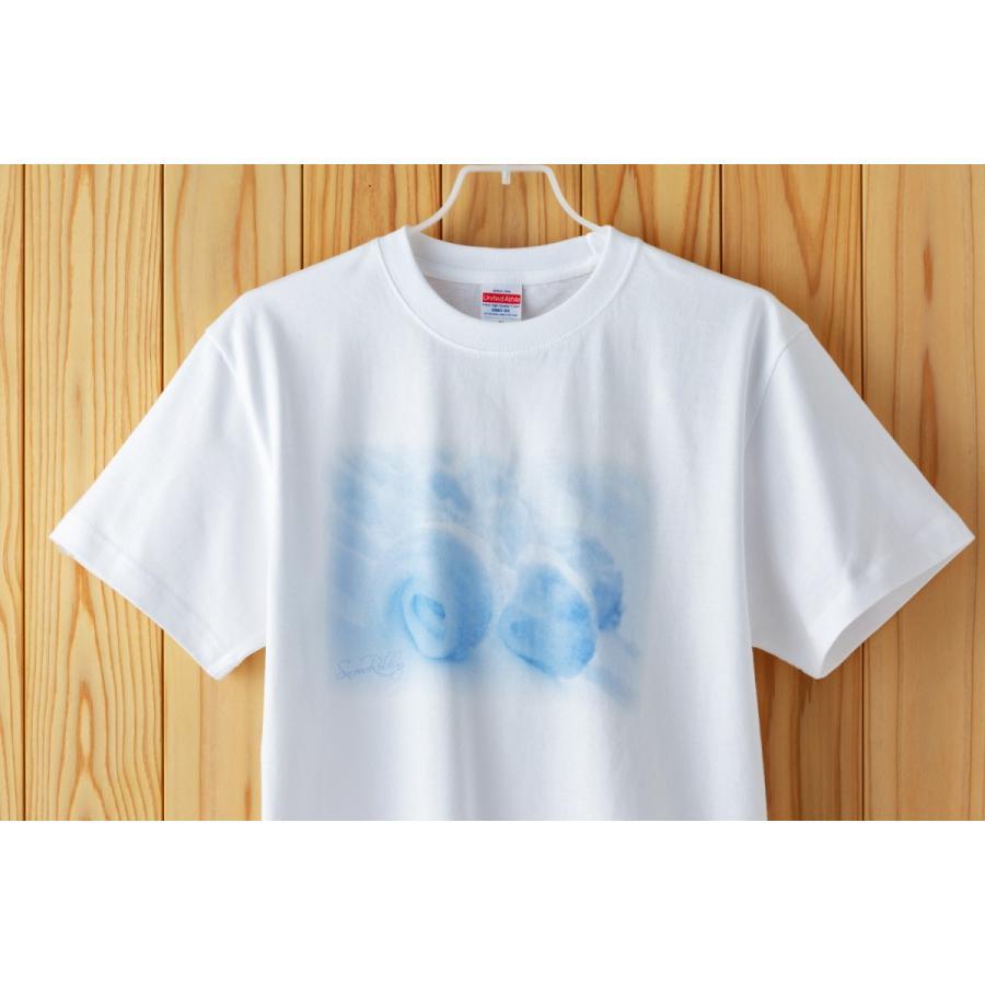着る風景。Tシャツ 雪まくり kiru-sansai 03
