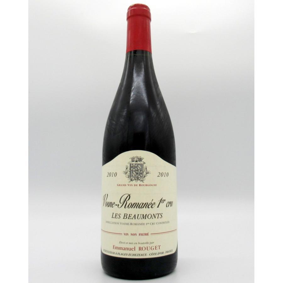 赤ワイン エマニュエル・ルジェ 2010 ヴォーヌ・ロマネ 1級 レ・ボーモン 750ml ブルゴーニュ 最安値 アンリ・ジャイエ kisaki-syuka
