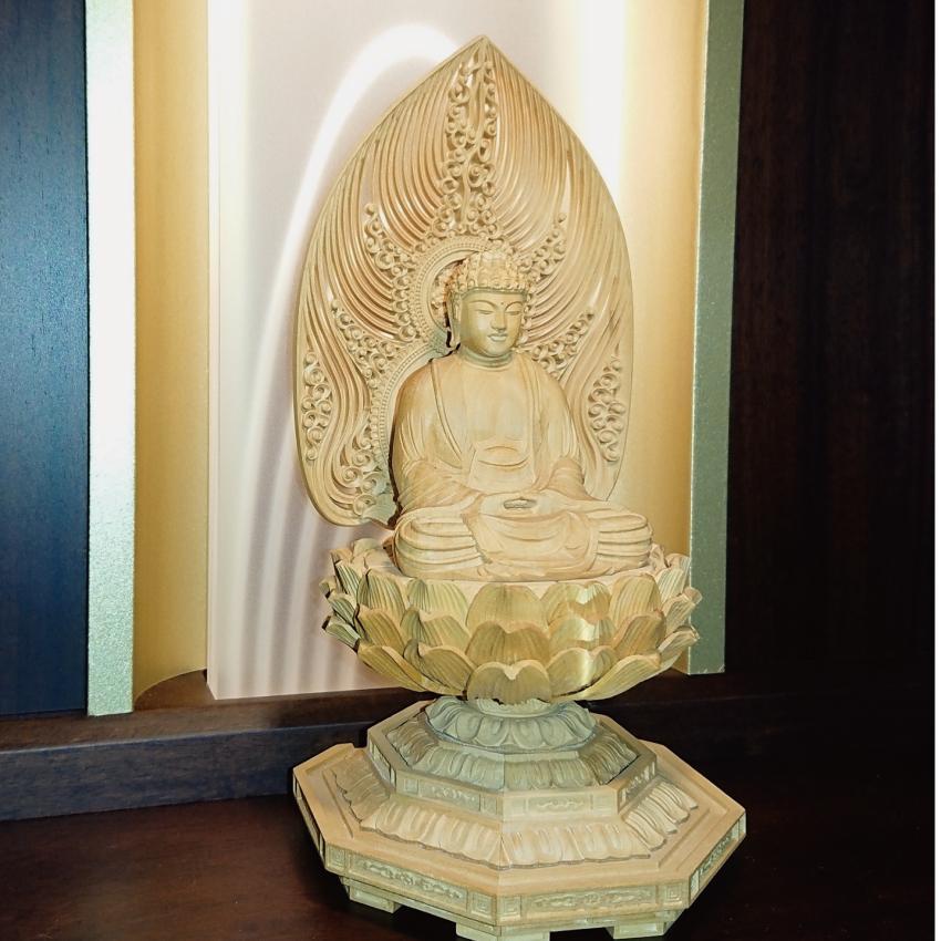仏壇 国産 モダン仏壇 七歌 16号(ショールームに展示中です)|kishineen|07