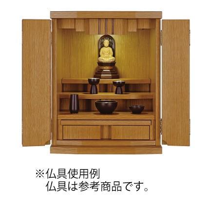 仏壇 国産モダン コンパクト ミニ アサリナ ライト色 14号|kishineen|02