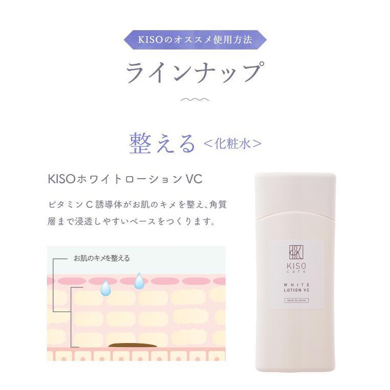 【お一人様 1点限り お試しサイズ】ビタミンC誘導体配合 美肌クリーム【キソ ホワイトクリーム VC 5g】 日本製  送料無料|kisocare|06
