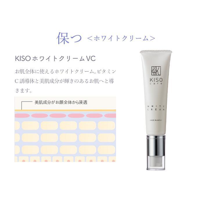 【お一人様 1点限り お試しサイズ】ビタミンC誘導体配合 美肌クリーム【キソ ホワイトクリーム VC 5g】 日本製  送料無料|kisocare|08