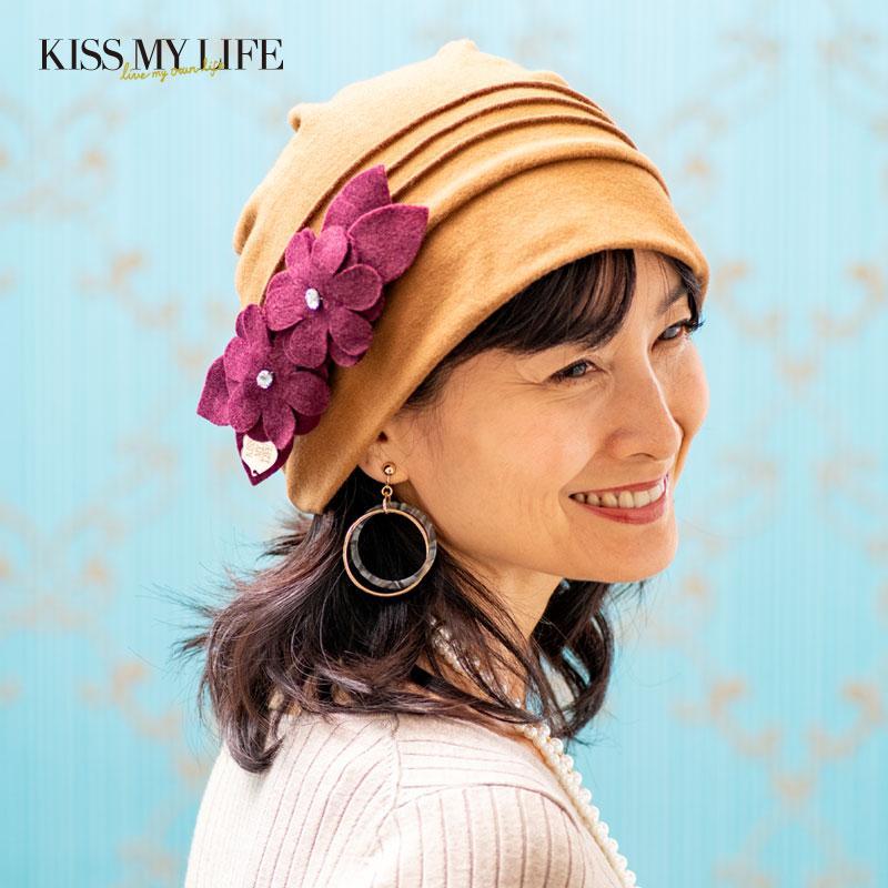 ドレープ帽子(ケア帽子)