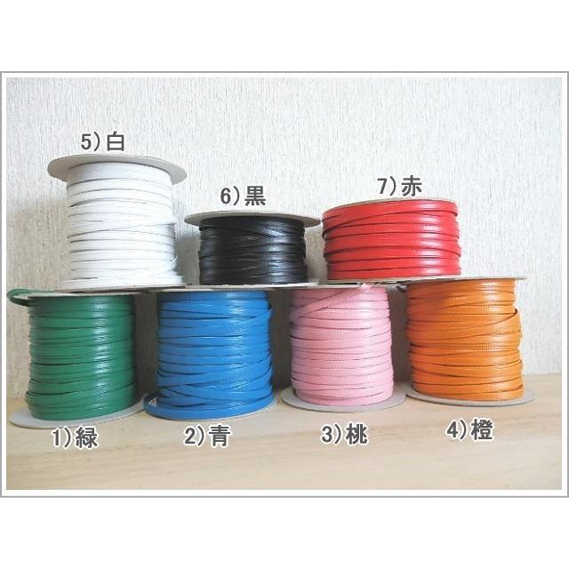 イニシャルチャーム付きネックストラップ 新7色 日本製柔らかい上質の革|kitaebisu|11