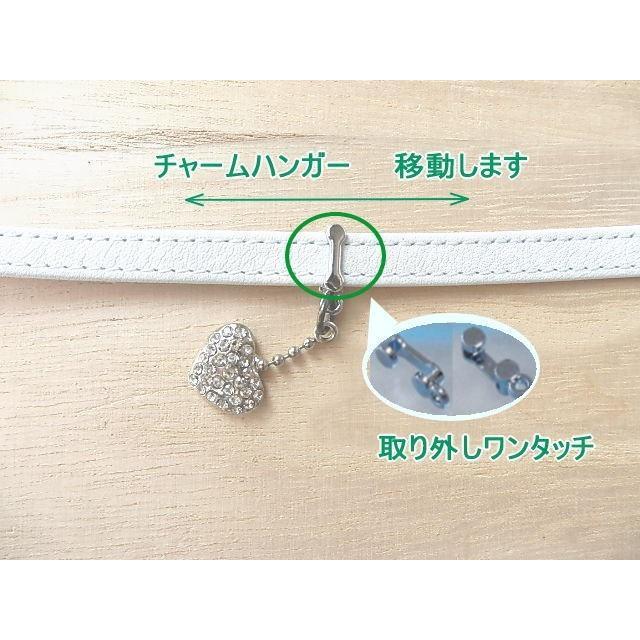 イニシャルチャーム付きネックストラップ 新7色 日本製柔らかい上質の革|kitaebisu|07